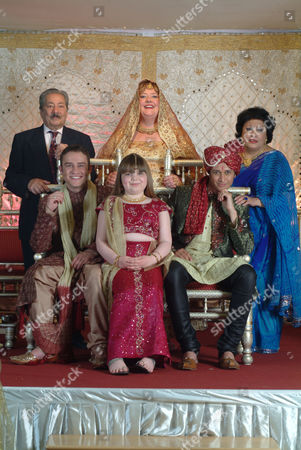 Stock Image of Saeed Jaffrey, Peter Ash, Katy Clayton, Sally Bankes, Chris Bisson, Jamila Massey