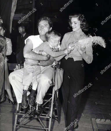 Richard Burton, Stephen Bogart, Lauren Bacall