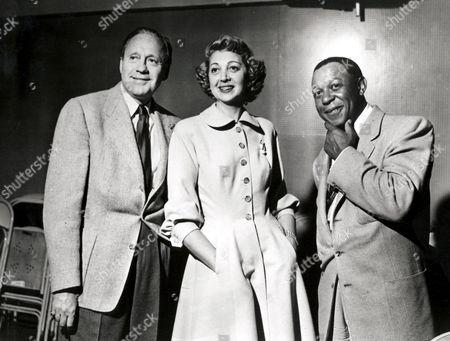 Jack Benny, Mary Livingston, Eddie 'Rochester' Anderson