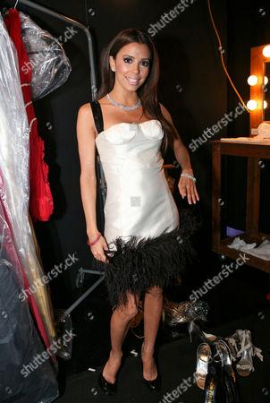 Eva Longoria wearing an Alvin Valley dress and H Stern Jewellery