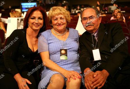 Gloria Estefan, Ella Longoria and Enrique Longoria