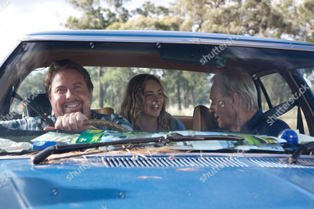 Stock Photo of Shane Jacobson, Morgan Griffin, Paul Hogan