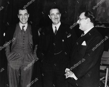 Earl St John, David Farrar, J. Arthur Rank
