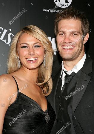 Stacy Keibler and boyfriend Geoff Stults