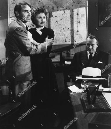 Gary Merrill, Barbara Stanwyck, George Sanders