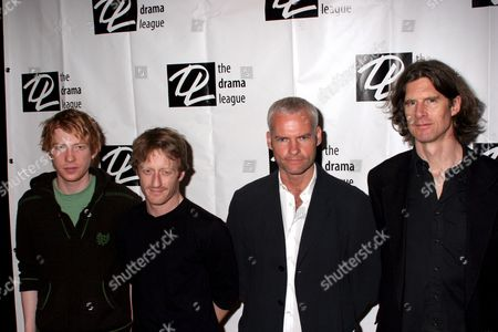 Domhnall Gleeson, David Wilmot, Martin McDonagh and Wilson Milam