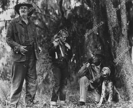 Walter Brennan, Brandon De Wilde, Phil Harris