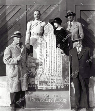 D.W. Griffith, John Barrymore, Mary Pickford, Douglas Fairbanks Sr, Joseph M. Schenck