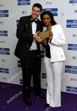 Matthew Stowville and Zeinab Badawi