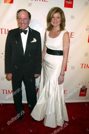 Mort Zuckerman and Arianna Huffington