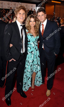 Rhys Wakefield, Indiana Evans and Paul O'Brien