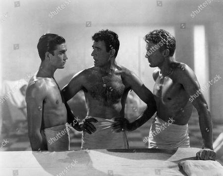 Ismael Perez, Gilbert Roland, Robert Stack