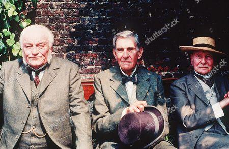 Charles Gray, David Warner, John Gielgud