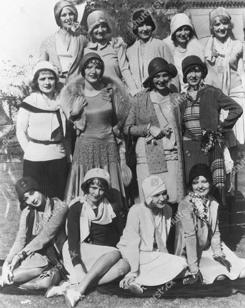 Left To Right From Top, Loretta Young, Josephine Dunn, Jean Arthur, Doris Hill, Anita Page, Mona Rico, Betty Boyd, Sally Blane, Ethlyne Clare, Helen Twelvetrees, Caryl Lincoln, Helen Forster, Doris Dawson