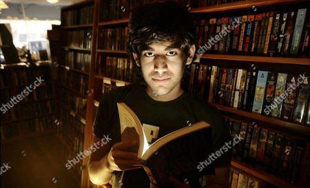 Stock Picture of Aaron Swartz