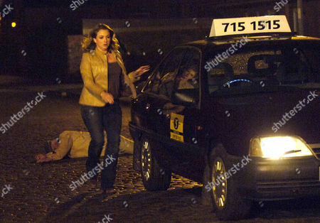 Taxi driver Ronnie Clayton, played by Emma Stansfield, knocks down an elderley man and then drives from the scene leaving him for dead. The storyline will see her framing boyfriend Steve McDonald for the accident.