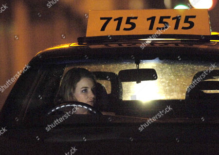 Stock Picture of Taxi driver Ronnie Clayton, played by Emma Stansfield, knocks down an elderley man and then drives from the scene leaving him for dead. The storyline will see her framing boyfriend Steve McDonald for the accident.