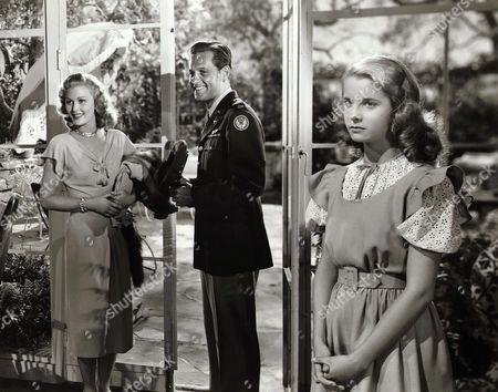 Joan Caulfield, William Holden, Mona Freeman