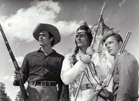 Clint Walker, John Russell, Ed Byrnes