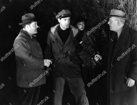 William Irving, Charles Quigley, Rita Hayworth, George McKay