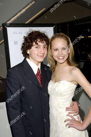 Daryl Sabara and friend Megan Martin