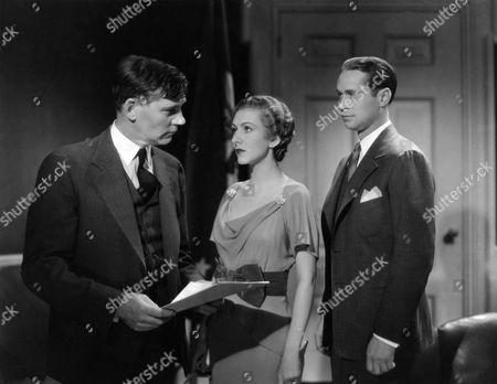 Stock Image of Walter Huston, Karen Morley, Franchot Tone