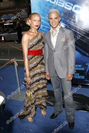 Stock Picture of Stacey McKenzie and Jay Manuel
