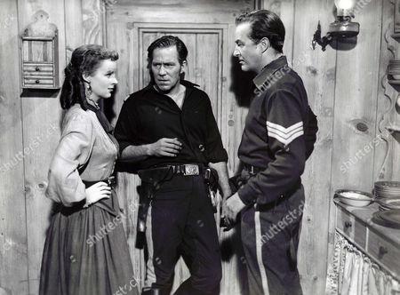 Helena Carter, Hugh Marlowe, Ray Milland