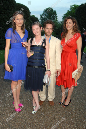 Dixie Chassay, Camilla Rutherford, Tom Hollander and Jessica de Rothschild