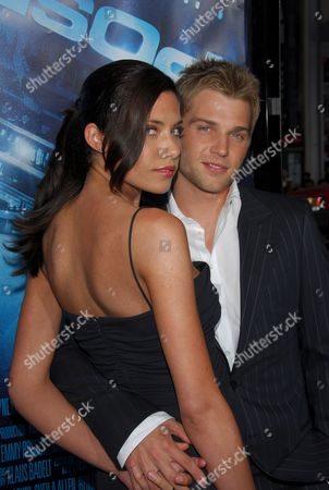 Mike Vogel and Courtney Vogel