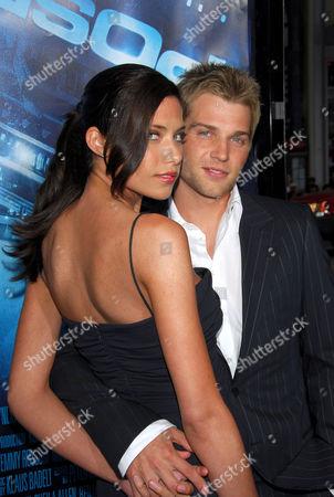 Courtney Vogel and Mike Vogel