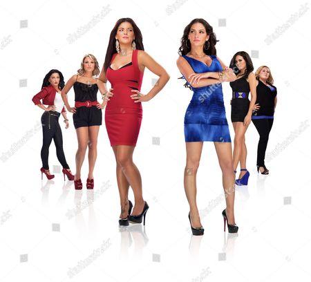 Stock Picture of Valona Saka, Amanda Gordon, Joey Lynn Tekulve, Christie Livoti, Carla Cozzolino, Angelina Favuzza