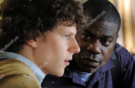 Stock Picture of Jesse Eisenberg, Tracy Morgan