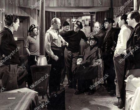Jack Warner, Anthony Steel, Eddie Byrne, William Sylvester