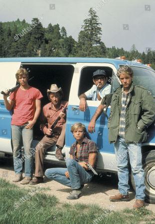 Stock Image of Eric Stoltz, Robert Mitchum, Stuart Margolin, James Spader, Lance Kerwin