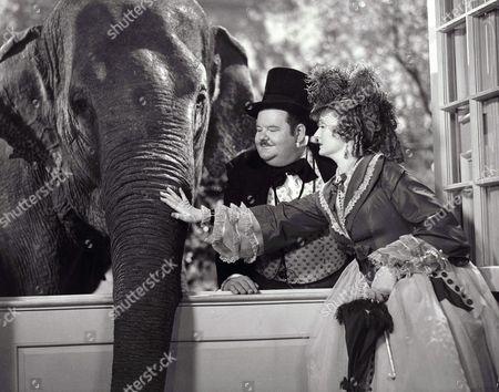 Oliver Hardy, Billie Burke