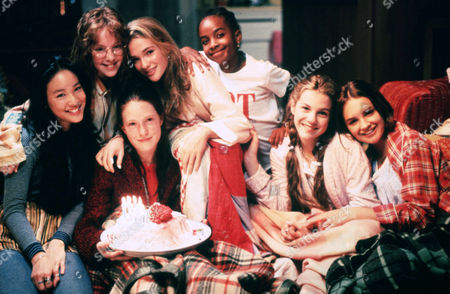 Stock Photo of Tricia Joe, Stacey Linn Ramsower, Schuyler Fisk, Bre Blair, Zelda Harris, Larisa Oleynik, Rachael Leigh Cook