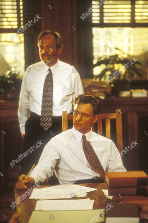 Stock Image of Ron Rifkin, Tony Goldwyn