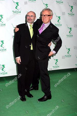 Phil Collins and Bob Crowley