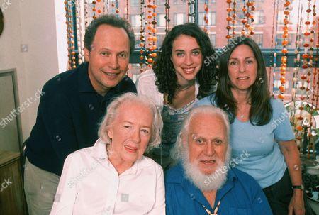 Stock Photo of Billy Crystal, Deborah Crystal, Lindsay Crystal, Bernhardt Crystal, Janice Crystal