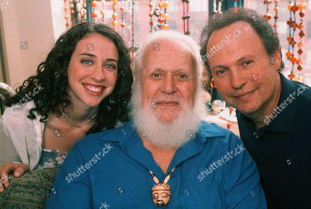 Stock Image of Lindsay Crystal, Bernhardt Crystal, Billy Crystal