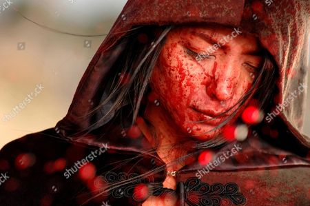 Editorial photo of Vampire Girl Vs. Frankenstein Girl - 2009
