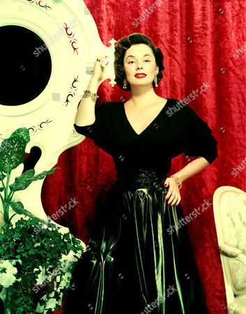 Editorial photo of Ruth Roman
