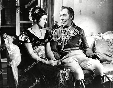 Ellaline Terriss (Kitty, Duchess of Wellington) and George Arliss (Duke of Wellington)
