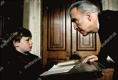 Stock Picture of Freddie Findlay, Christopher Lee