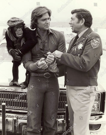 Sam The Chimp, Greg Evigan, Claude Akins