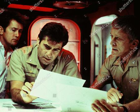 Martin Sheen, James Farentino, Kirk Douglas