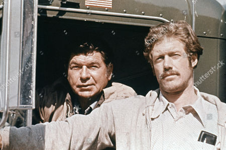 Stock Picture of Claude Akins, Frank Converse