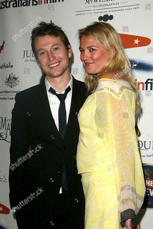 Stock Picture of Leigh Whannell and Anita Patrickson