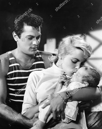 Tony Curtis, Janet Leigh, Kelly Lee Curtis